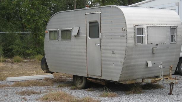 1950 39 s vintage camper for sale in milton fl near pensacola. Black Bedroom Furniture Sets. Home Design Ideas